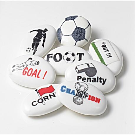 """Dragées Personnalisées """"Foot"""""""
