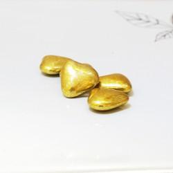 Mini coeur chocolat Or