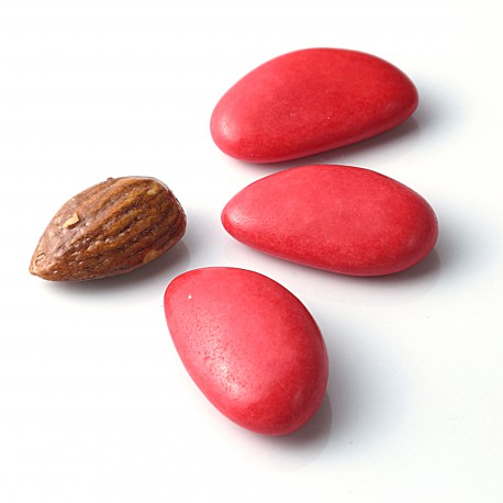 DRAGEES AMANDES AVOLA ROUGE