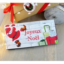 """Tablette chocolat """"Joyeux Noël"""""""