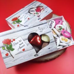 Boite St Valentin Amour