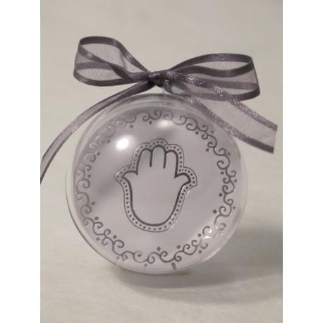 Boule PVC Diam 5 cm Vignette main de Fatma