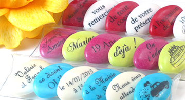 drages tube message - Drages Personnalises Mariage